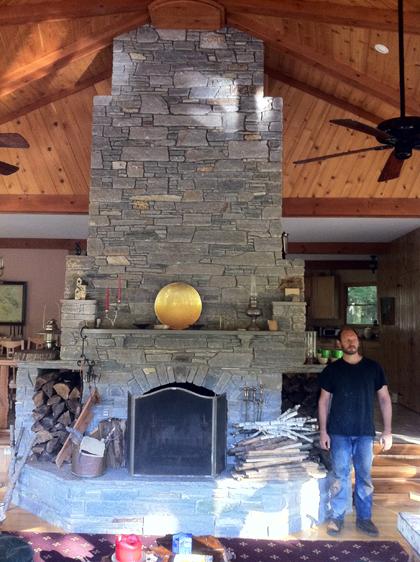 David and carol lehrman for Engineered fireplace